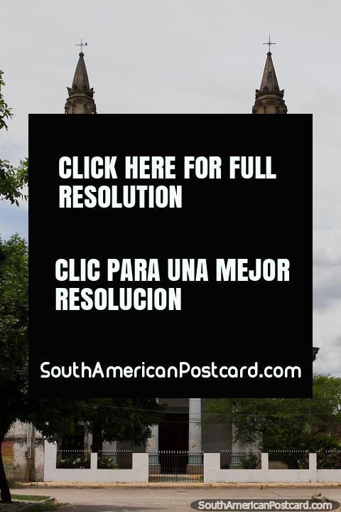 San Ramon Parish, the old church down near the port in Paysandu, not used. (480x720px). Uruguay, South America.