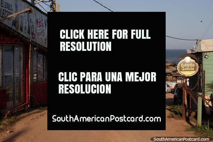 Punta del Diablo is quiet in November, but 30000 people will arrive in December. (720x480px). Uruguay, South America.