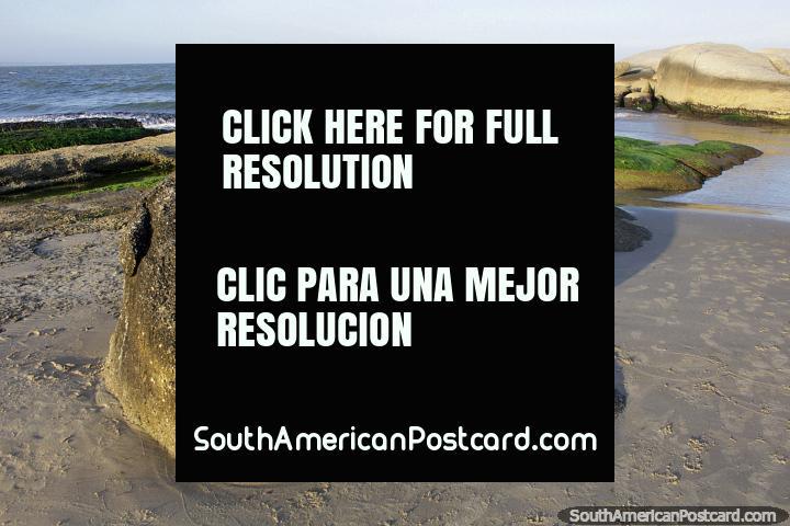 Beautiful coastline in Punta del Diablo, a fantastic place to explore. (720x480px). Uruguay, South America.