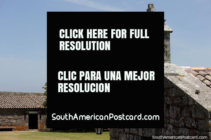 Restoration of Santa Teresa fortress was proposed and began in 1929, Punta del Diablo. (720x480px). Uruguay, South America.
