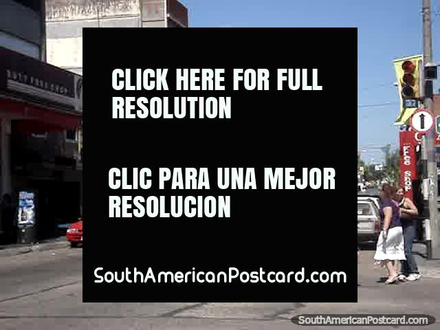 Rivera street, picture 2. (640x480px). Uruguay, South America.