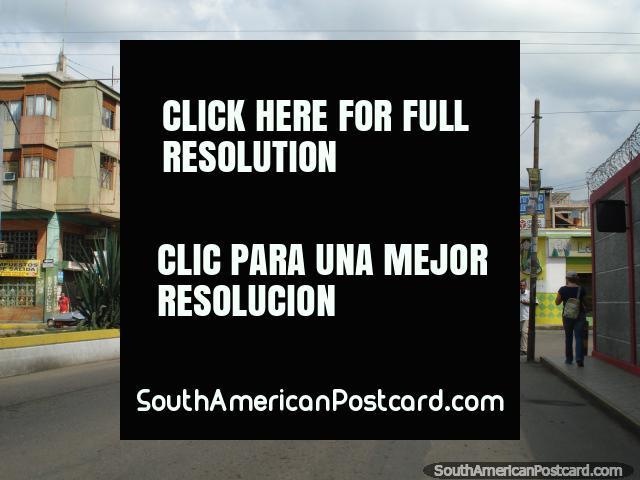 Entering San Antonio from Colombia. (640x480px). Venezuela, South America.