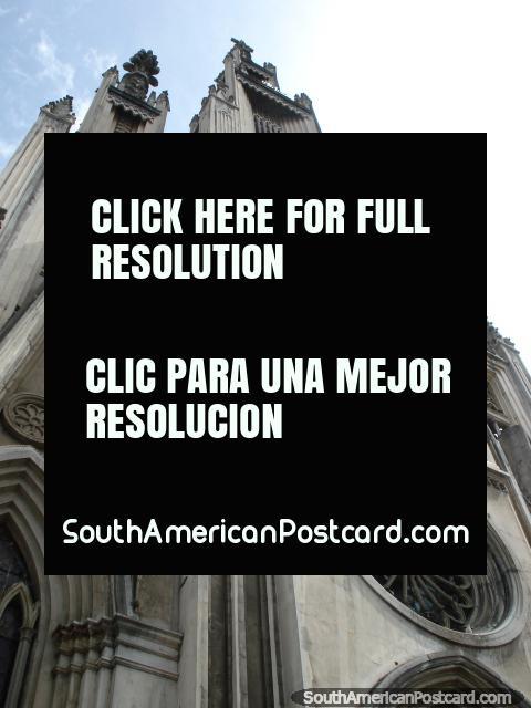 Church - Iglesia San Jose in Carrera 10 in San Cristobal. (480x640px). Venezuela, South America.