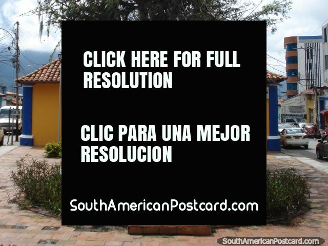 Plaza Charlie (Chaplin) in Merida. (640x480px). Venezuela, South America.