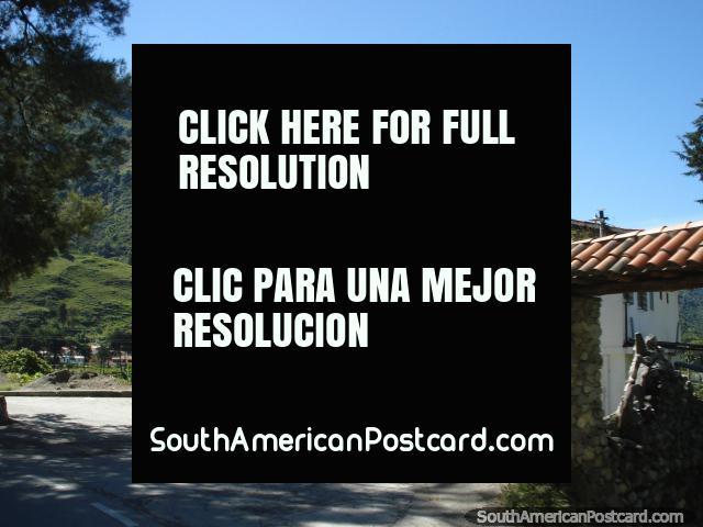 Posada El Descanso en las tierras altas de Mérida. Una posada es una pensión. (640x480px). Venezuela, Sudamerica.