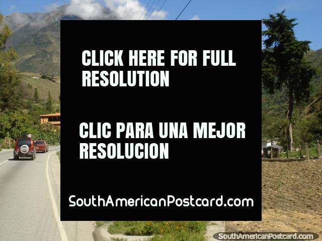 O cenário incrível nas terras altas de Mérida na estrada El Paramo. (640x480px). Venezuela, América do Sul.