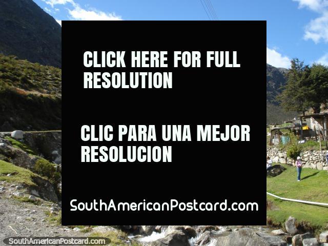 Parque Nacional Sierra de la Culata entrance of river and rocks, Merida. (640x480px). Venezuela, South America.