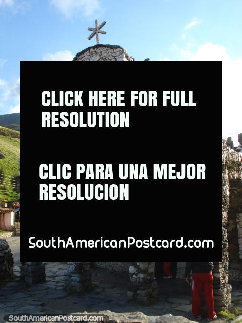 Capilla de Piedra, also known as the stone church in San Rafael, Merida highlands. (480x640px). Venezuela, South America.