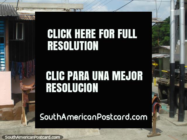 Horseriding shop in Obispo Ramos de Lora. (640x480px). Venezuela, South America.