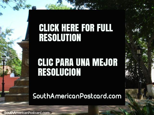 Parque Simon Bolivar em Coro central. (640x480px). Venezuela, América do Sul.