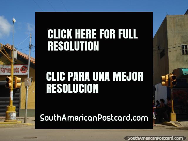 The streets of Coro's city center. (640x480px). Venezuela, South America.