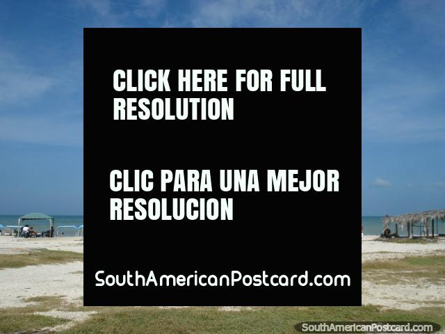Looking from the shore to the sea at La Restinga on Isla Margarita. (640x480px). Venezuela, South America.