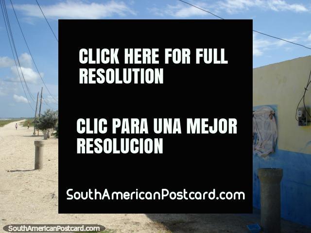 Peaceful life at La Restinga, houses of the locals, Isla Margarita. (640x480px). Venezuela, South America.