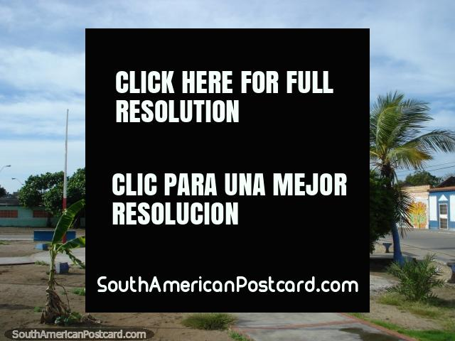 Boca de Rio plaza, not too fancy, Isla Margarita. (640x480px). Venezuela, South America.
