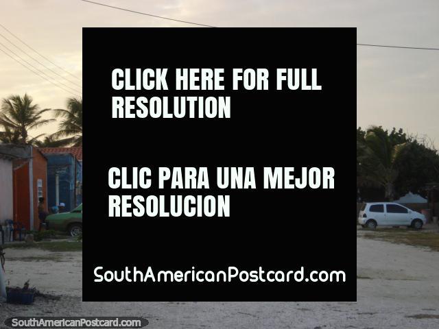Local children of La Restinga play outside before dark, Isla Margarita. (640x480px). Venezuela, South America.