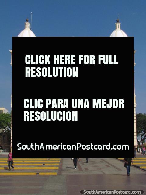 The fantastic church Basilica de La Chiquinquira in Maracaibo. (480x640px). Venezuela, South America.