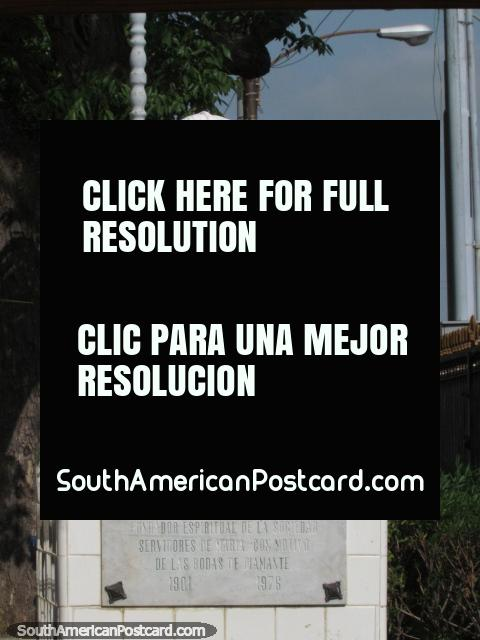 Antonio Maria Soto bust (1901-1976), a religious society founder, Maracaibo. (480x640px). Venezuela, South America.