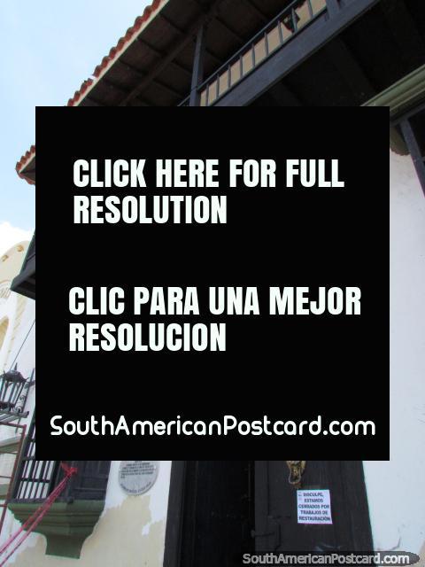 Edifïcio histórico, a Casa de Capitulação em Maracaibo. (480x640px). Venezuela, América do Sul.