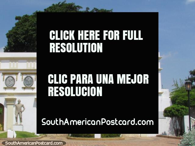 Panteon Regional monument in Maracaibo. (640x480px). Venezuela, South America.