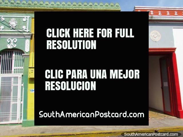 La vecindad de Santa Lucia en Maracaibo tiene algunas viejas casas agradables. (640x480px). Venezuela, Sudamerica.