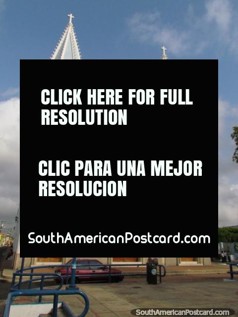 Church Iglesia Santa Lucia in Maracaibo. (480x640px). Venezuela, South America.
