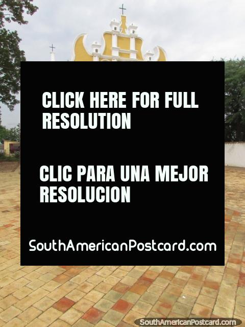 Church Capilla del Calvario, built in the late 1700's, Carora. (480x640px). Venezuela, South America.