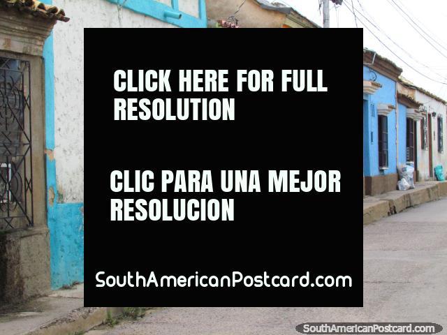 Colorful houses in the Torrellas neighbourhood in Carora. (640x480px). Venezuela, South America.