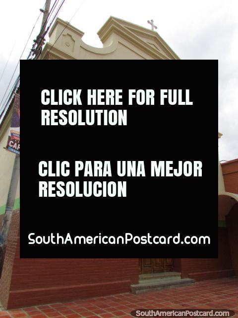 Church unknown name in Carora. (480x640px). Venezuela, South America.