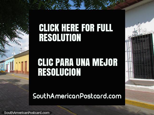 The white Anzoategui Museum building in Barcelona. (640x480px). Venezuela, South America.
