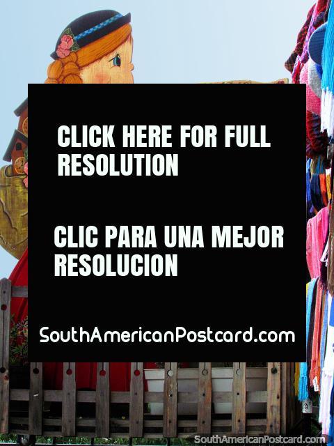 Shop Comercial Casa Kuku, buy warm clothes in Colonia Tovar. (480x640px). Venezuela, South America.