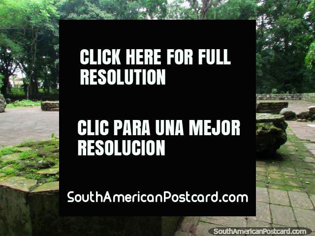 Ruins of the church at Park El Fuerte in San Felipe. (640x480px). Venezuela, South America.