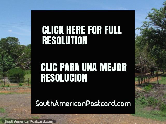 Country houses on beautiful big properties between Maracaibo and Coro. (640x480px). Venezuela, South America.