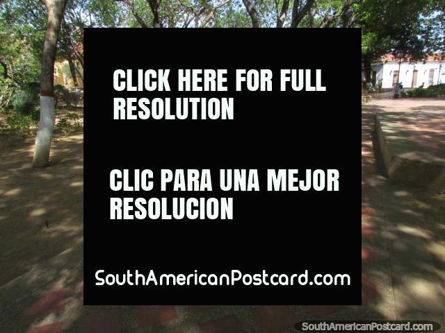 Plaza Bolivar in Coro, a visit for old times sake. (640x480px). Venezuela, South America.