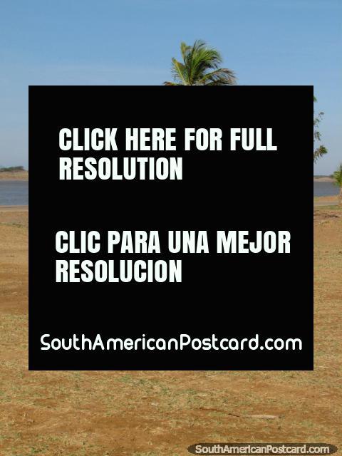 Cedo de viagem de manhã a La Vela de Coro, a praia 20 minutos para o norte/Leste de Coro central. (480x640px). Venezuela, América do Sul.