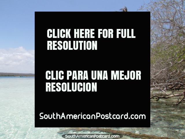 Baixios em volta das costas de Cajo Sombreiro, Parque Nacional Morrocoy. (640x480px). Venezuela, América do Sul.