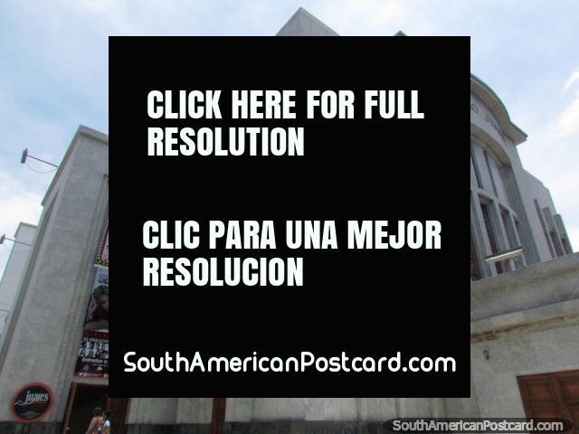 The theatre Teatro Juares in Barquisimeto. (640x480px). Venezuela, South America.