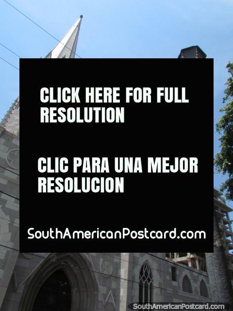 Gothic church with 2 towers in Barquisimeto. (480x640px). Venezuela, South America.