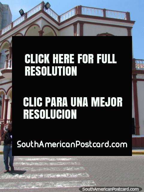 Casa Municipal Eustoquio Gomez, casa municipal em Barquisimeto. (480x640px). Venezuela, América do Sul.