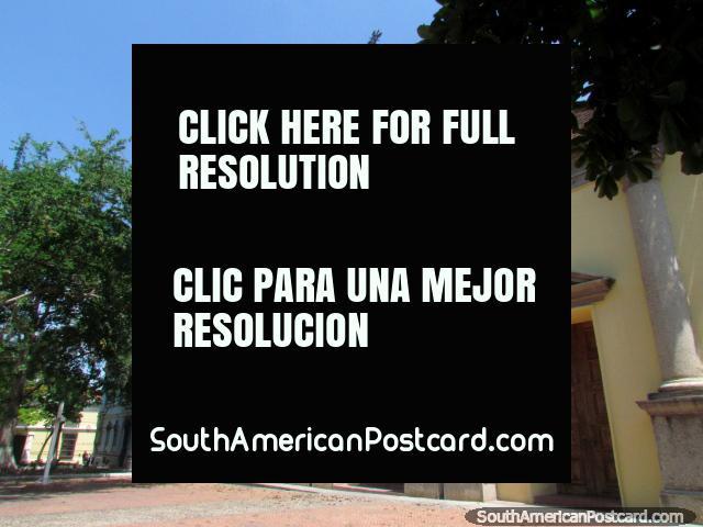 The nice old church beside Plaza Lara in Barquisimeto. (640x480px). Venezuela, South America.