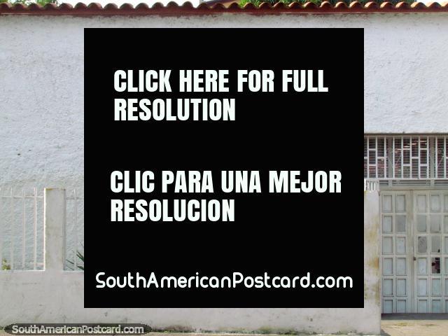 Mision Negra Hipolita, a stencil on a houseside in Acarigua. (640x480px). Venezuela, South America.