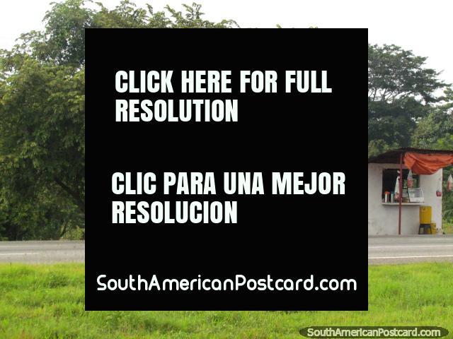 Sweetcorn for sale roadside between Acarigua and Barinas. (640x480px). Venezuela, South America.