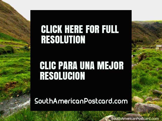 Beautiful landscape and scenery in the mountains around Biguznos/Pedregal. (640x480px). Venezuela, South America.